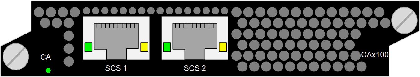 Scrambler CAx100, DVB simulcrypt, 2000 services/6 Gbit/s, DVB-CSA v1 (48-bit), DVB-CSA v2 (64-bit), AES (128-bit)
